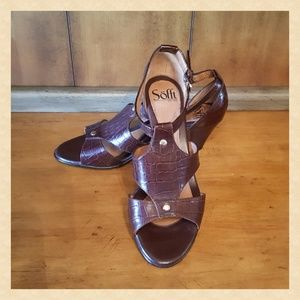 Soft Brown Leather Sandals NEW